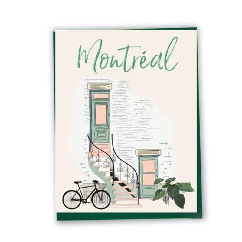 Carte de souhait Montréal