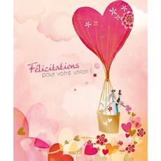 Carte de souhait Félicitations pour votre union