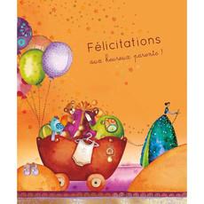 Carte de souhait Félicitations aux heureux parents