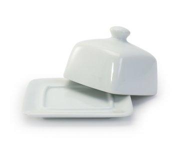 Beurrier carré blanc