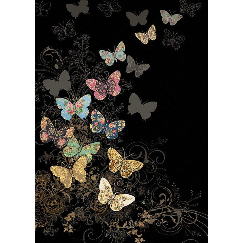 Carte de souhait Papillons Jewels