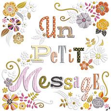 Carte de souhait Un petit message