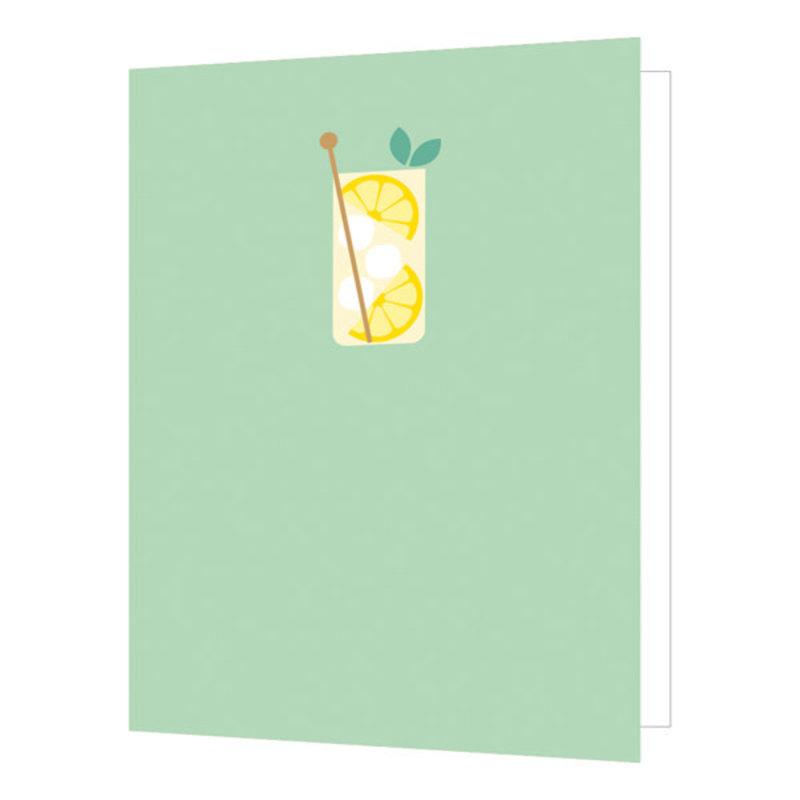 Carte de souhait Limonade
