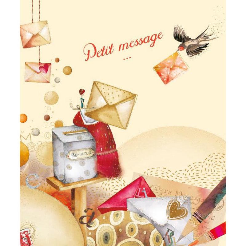 Carte de souhait Petit message