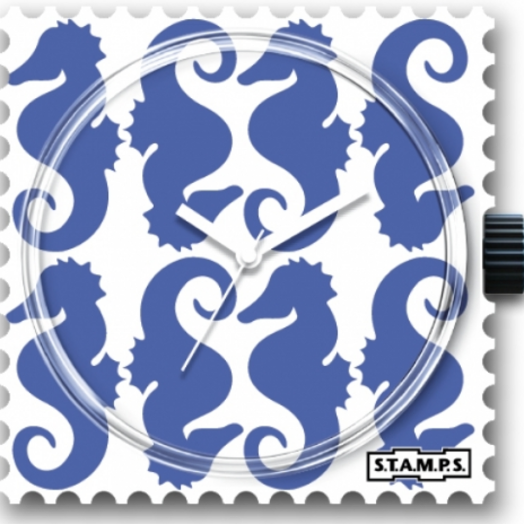 Montre Stamps Montre Stamps Seahorse