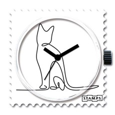 Montre Stamps Montre Stamps Lovely cat