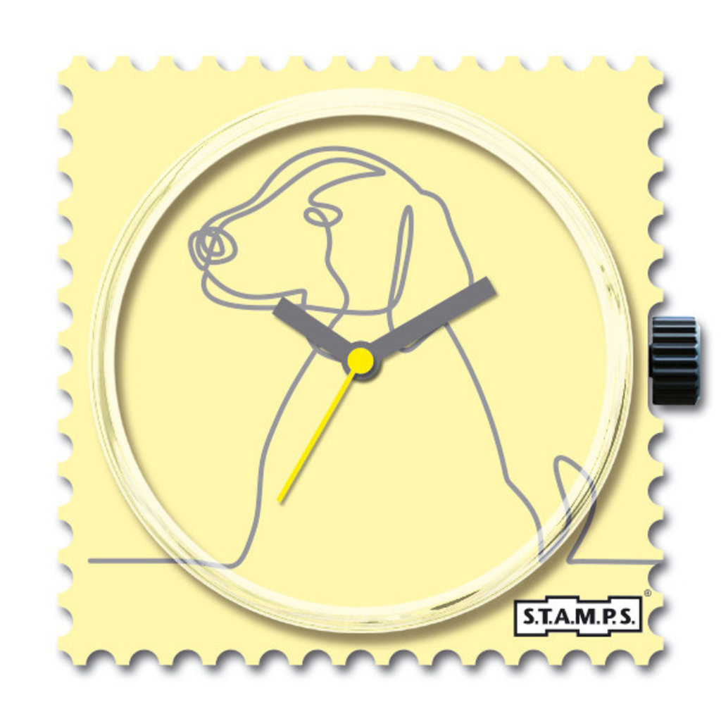 Montre Stamps Montre Stamps Lovely Dog