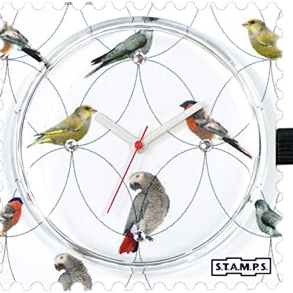 Montre Stamps Montre Stamps Diamond Birds