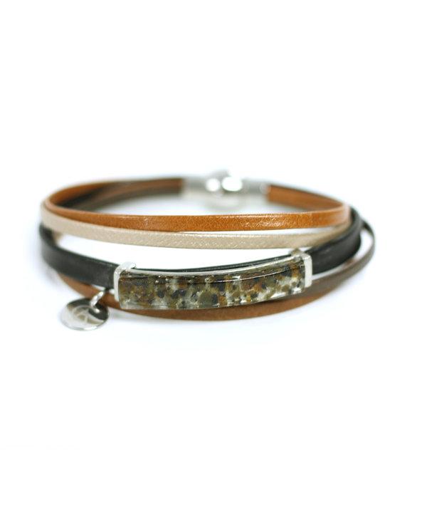 Bracelet Axia multiple Tan