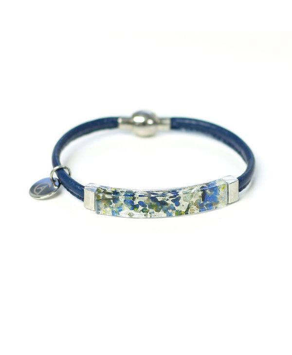 Bracelet Axia simple bleu
