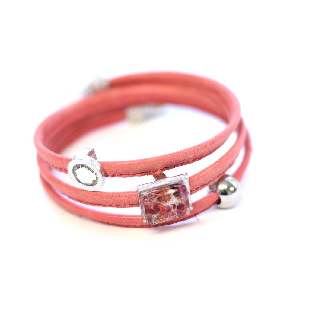 Cré-Art Bracelet Le Twist corail