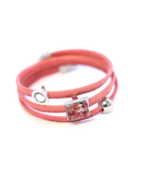 Bracelet Le Twist corail