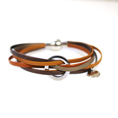 Cré-Art Bracelet Lara tan