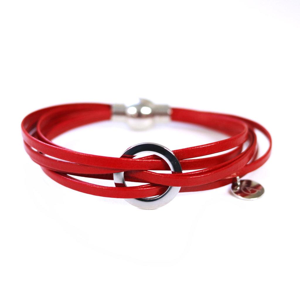 Cré-Art Bracelet Lara rouge
