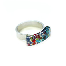 Cré-Art Bague Luna Multi