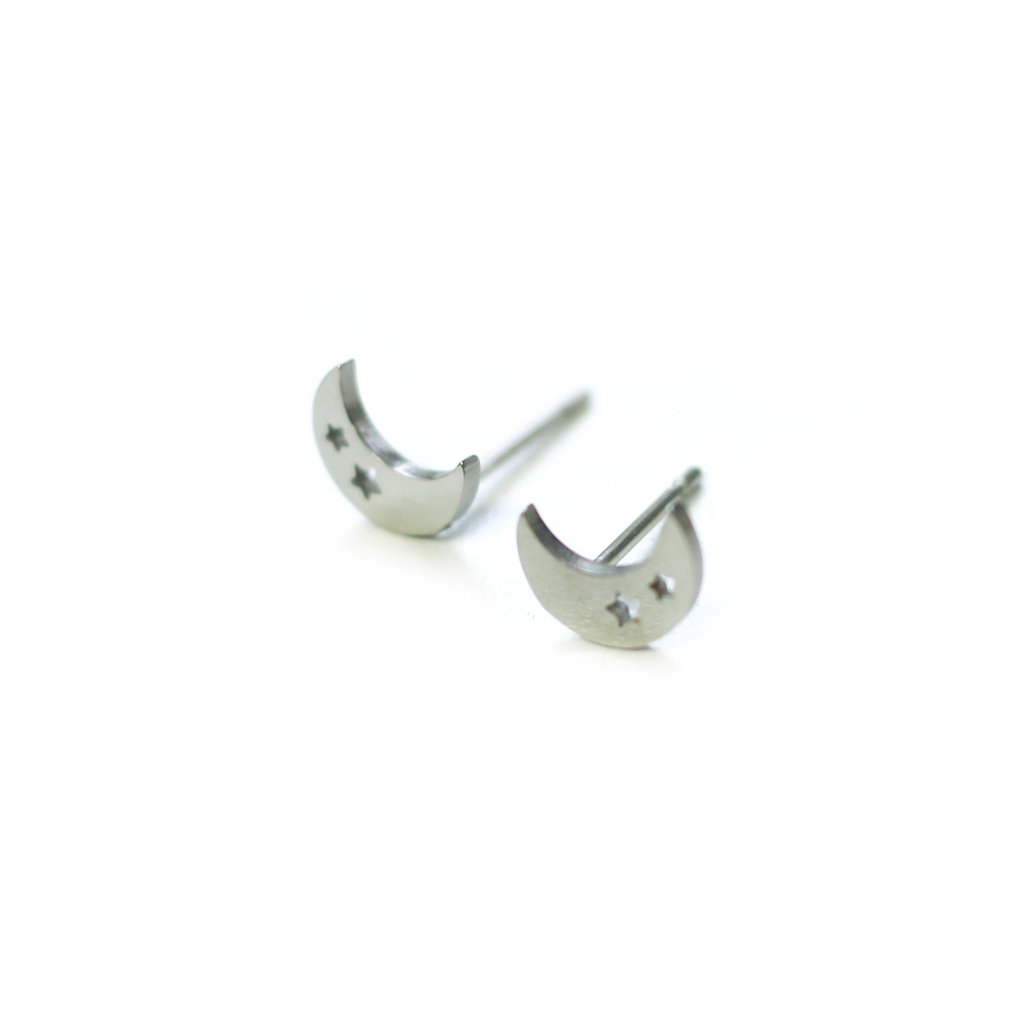 Cré-Art Copy of Boucle d'oreilles Stainless feuille or