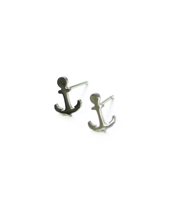 Boucle d'oreilles Stainless Ancre