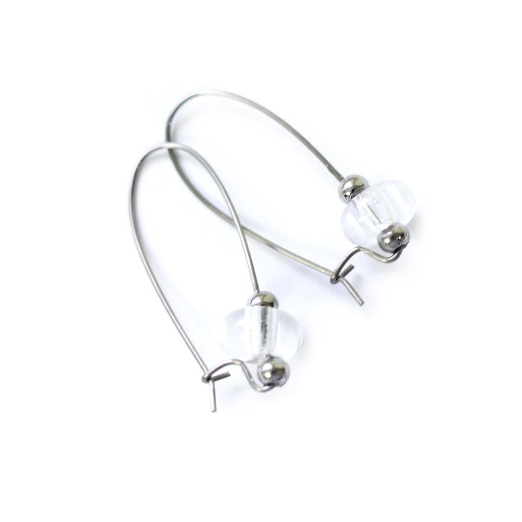 Cré-Art Boucle d'oreilles luxury clair