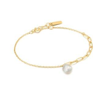 Bracelet Ania Haie Gold Pearl Chunky