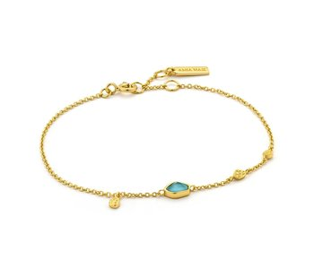 Bracelet Ania Haie Turquoise Discs