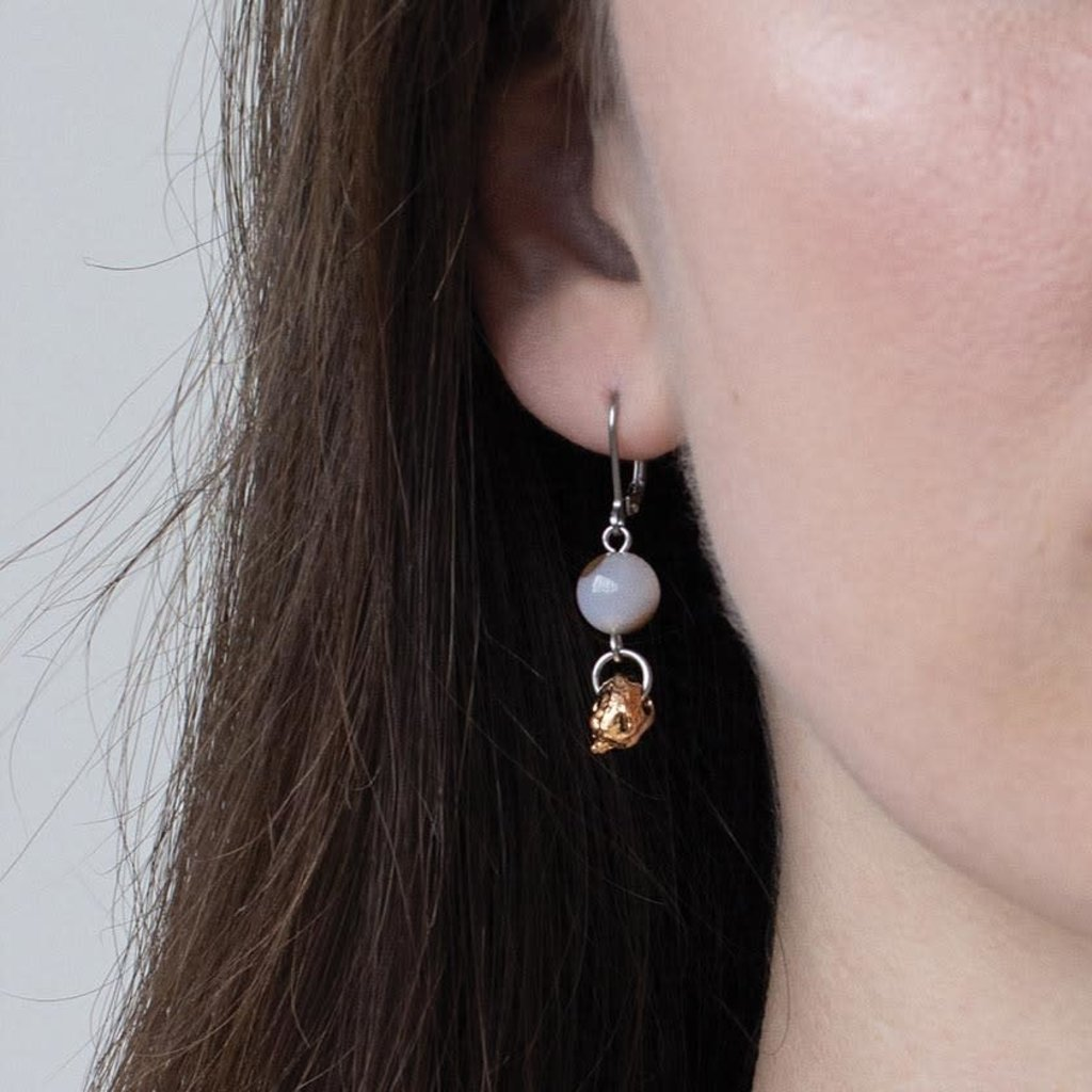 Anne-Marie Chagnon Boucles d'oreilles Anne-Marie Chagnon  Aurélien bronze
