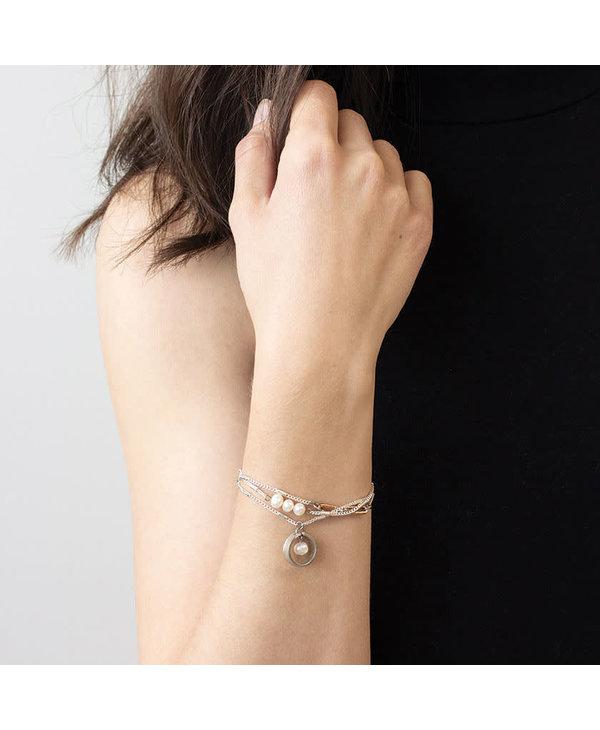 Bracelet Anne-Marie Chagnon Floyd étain perle