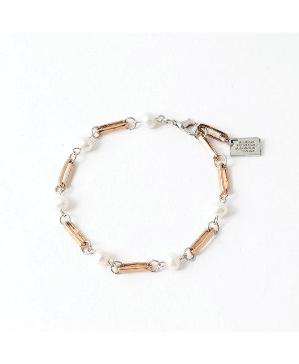 Bracelet Anne-Marie Chagnon Élody bronze perle