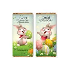 Daniel Chocolates Barre 85 gr lapins
