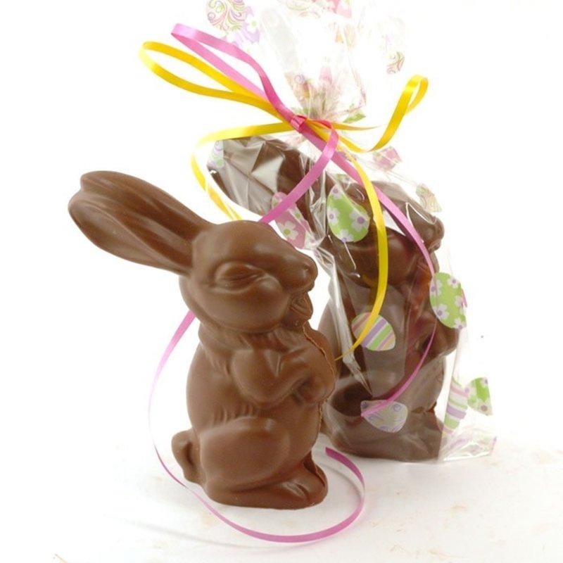 Daniel Chocolates Pampan le lapin 190 gr chocolat noir