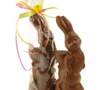 Cleo le lapin en chocolat noir 125gr