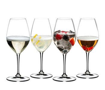 Verre à vin mixing champagne  de Riedel (bt/ 4)