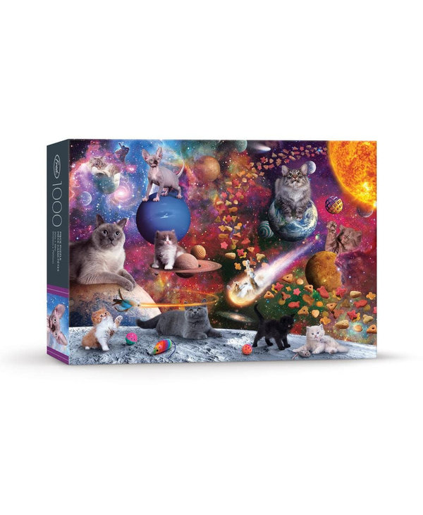 Casse-tête 1000 morceaux Norwood galaxy cats