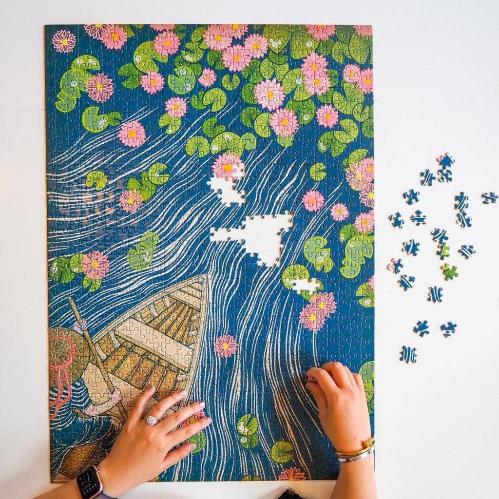 Fred & Friends Casse-tête 1000 morceaux nénuphars