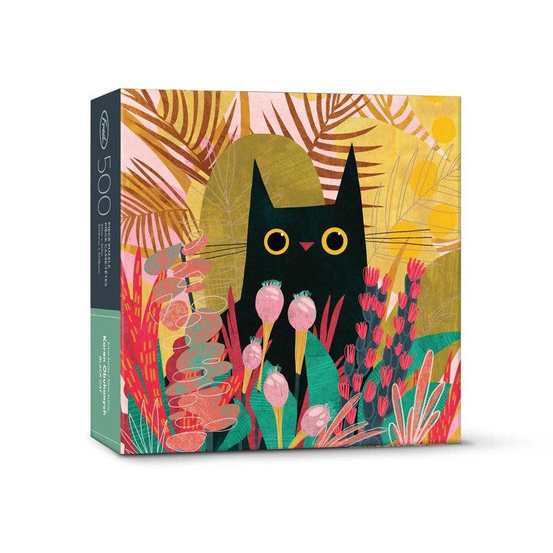 Fred & Friends Casse-tête 500 morceaux Black cat