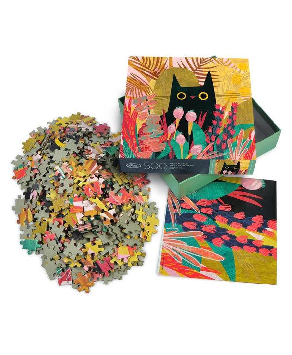Casse-tête 500 morceaux Black cat