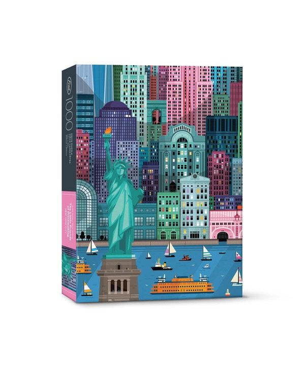Casse-tête 1000 morceaux New York