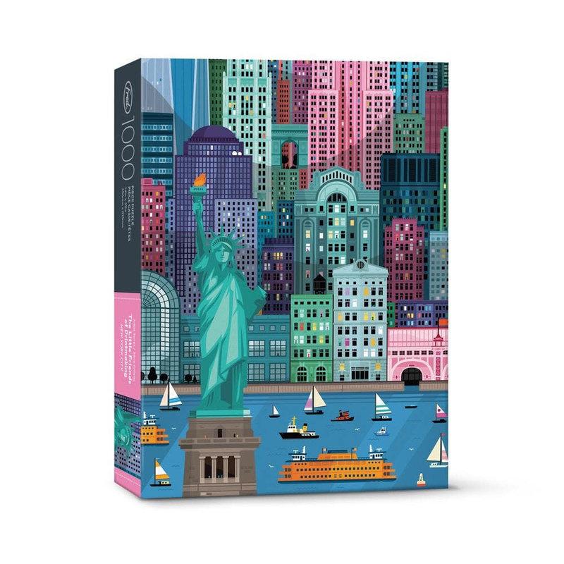 Fred & Friends Casse-tête 1000 morceaux New York
