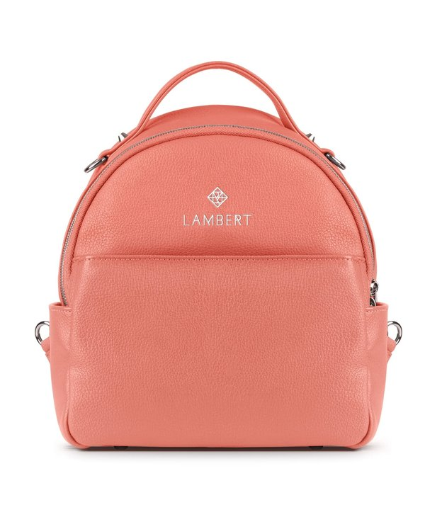 CHARLIE - Mini sac à dos Lambert en cuir vegan Blossom