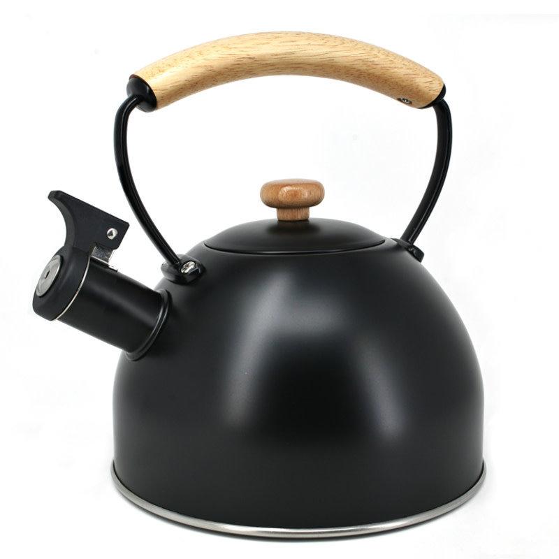Danesco Bouilloire sifflante noire