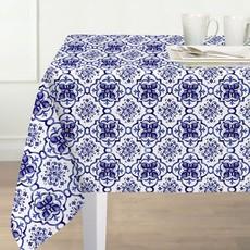 Texstyle Deco inc. Nappe Amani Tile Bleu