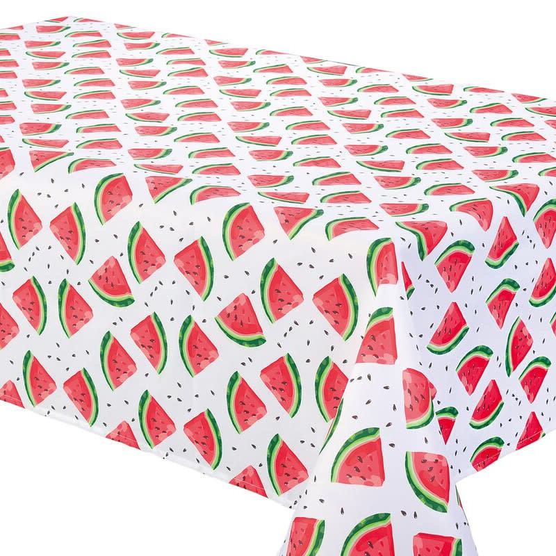 Texstyle Deco inc. Nappe Watermelon Blanc