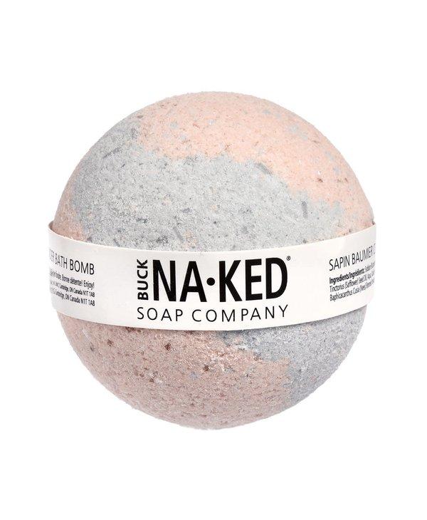 Bombe de bain sapin beaumier canadien et lavande Naked