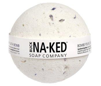 Bombe de bain à la lavande et au romarin Naked