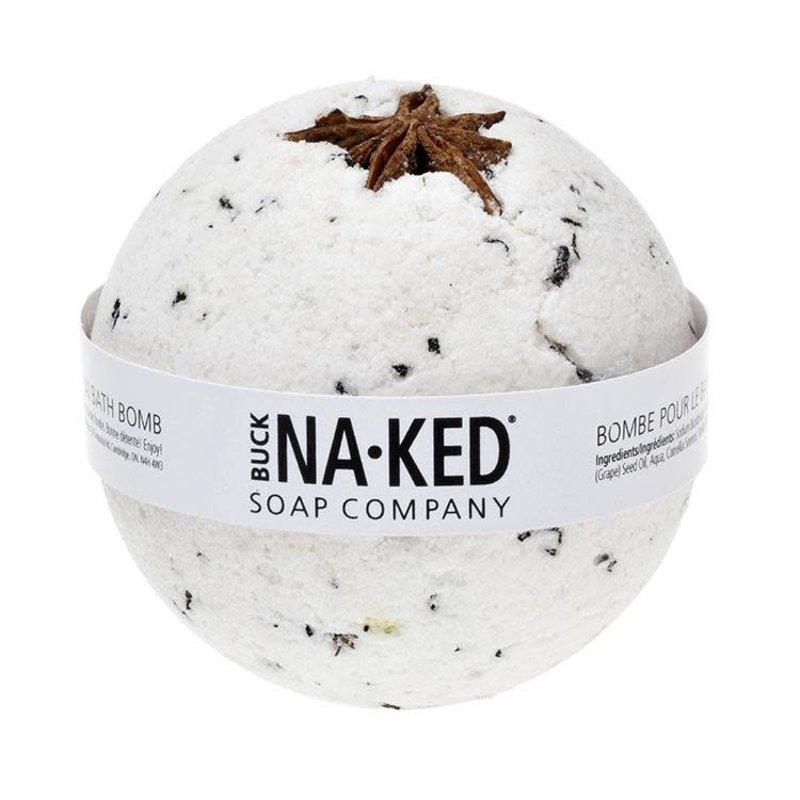 Buck Naked Soap Company Bombe de bain à la vanille chai