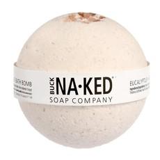 Buck Naked Soap Company Bombe de bain Eucalyptus et sel de l'Himalaya