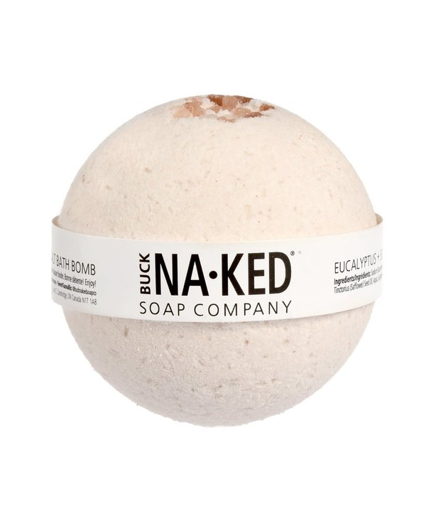 Bombe de bain Eucalyptus et sel de l'Himalaya Naked