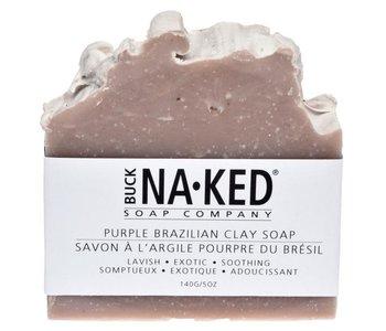 Savon à l'argile pourpre du Brésil Naked