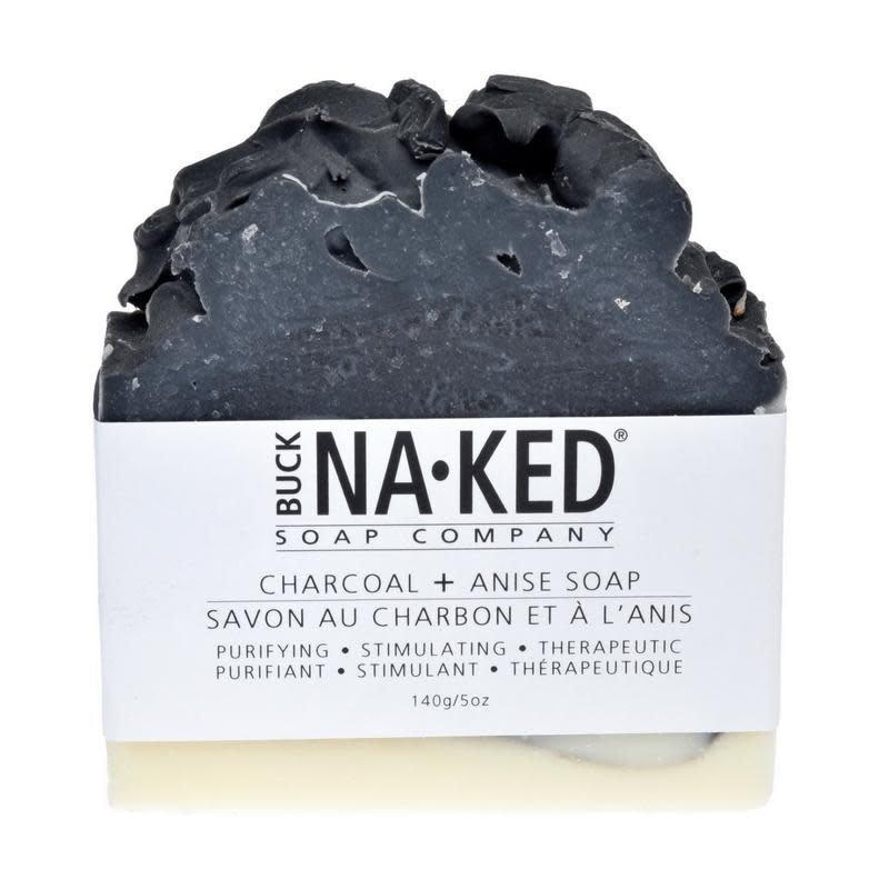 Buck Naked Soap Company Savon au charbon et à l'anis