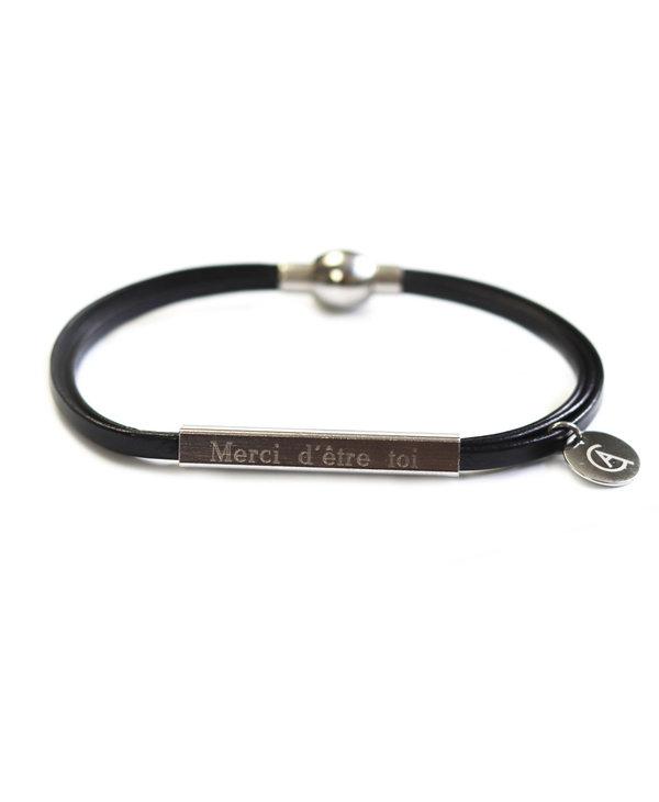 Bracelet Cré-Art allongé avec gravure