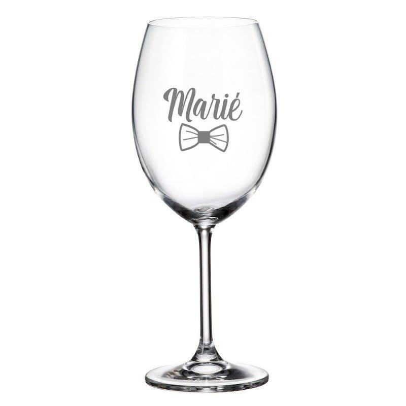 Maison du bar Verre à vin  marié